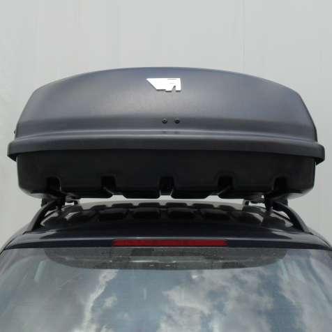 Farad box baule portapacchi f3 n7 680lt nero goffrato for Box modulare per auto
