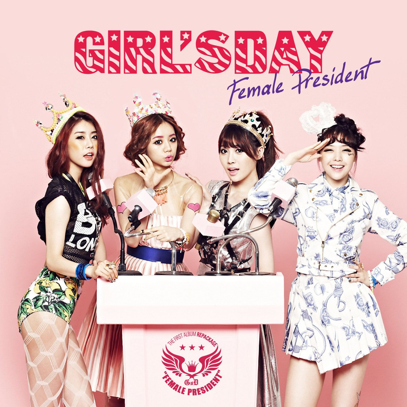 [Album] Girl's Day - Female President [Repackage]