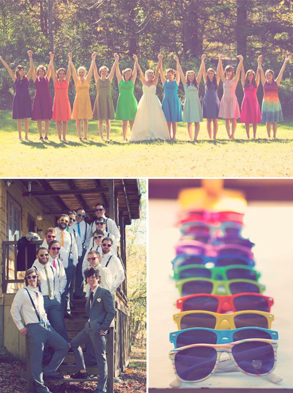 HEY LOOK: COLORFUL WEDDING INSPIRATION: FASHION & ACCESSORIES