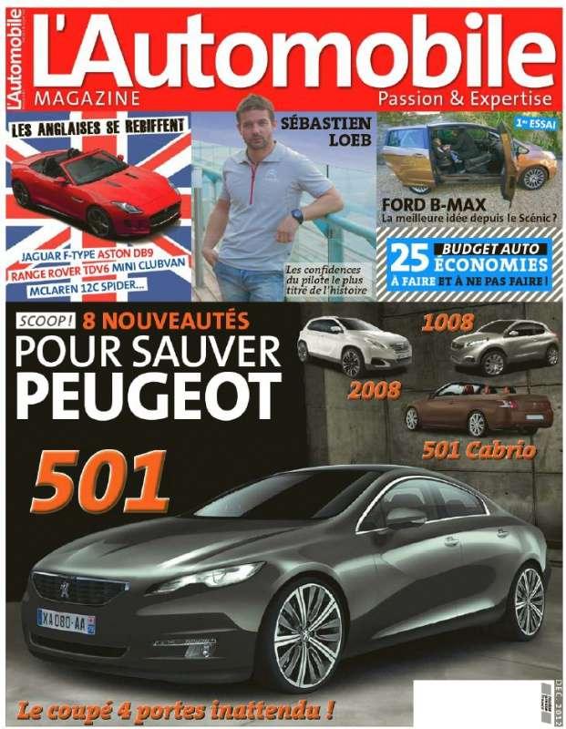 L'Automobile Magazine N°799 Décembre 2012