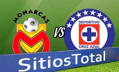 Monarcas Morelia vs Cruz Azul En Vivo