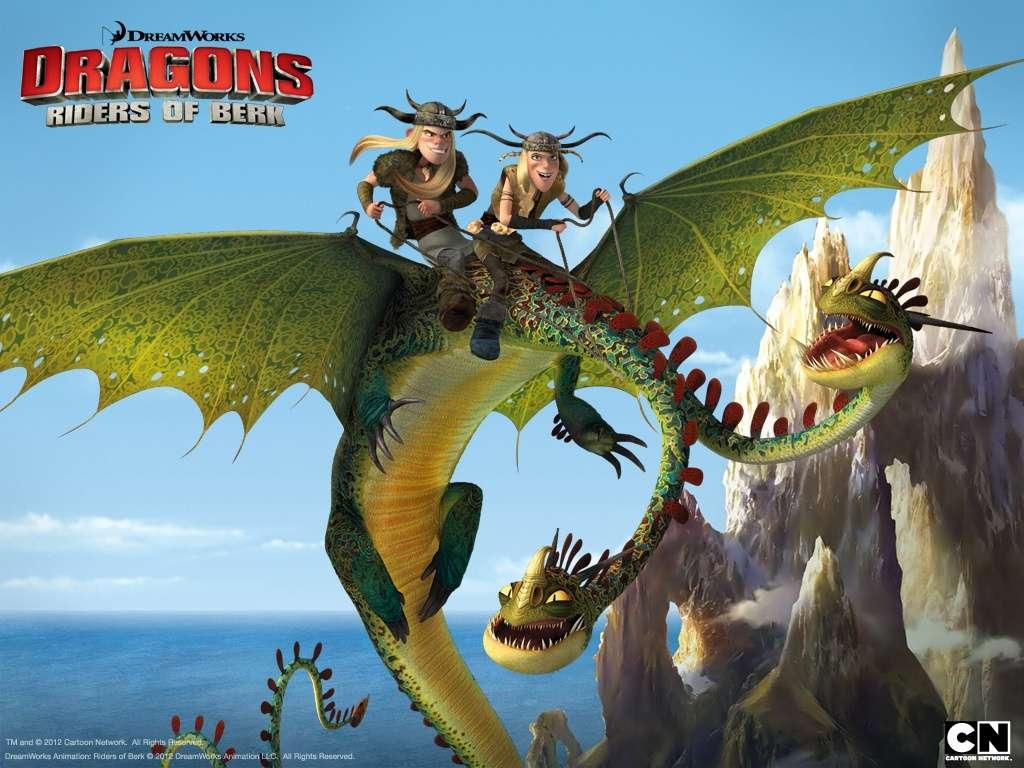 Dragons Riders of Berk Season 1 (2013)