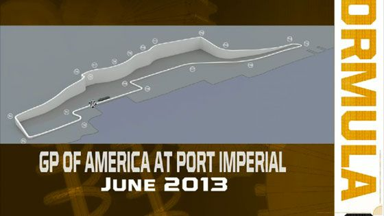 Grand Prix Of America Track Layout