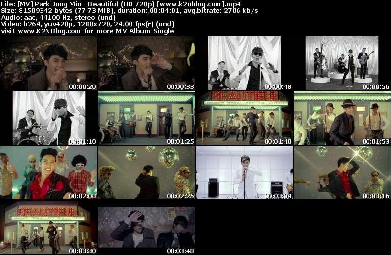 [MV] Park Jung Min - Beautiful (HD 720p Youtube)